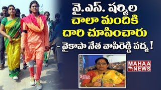 YCP Vasireddy Padma Sensational Comments On Chandrababu Naidu