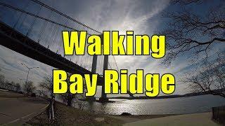 ⁴ᴷ Walking Tour of Bay Ridge, Brooklyn, NYC