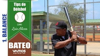 Vamos Tips: Swing Perfecto por Luis Alicea (béisbol)
