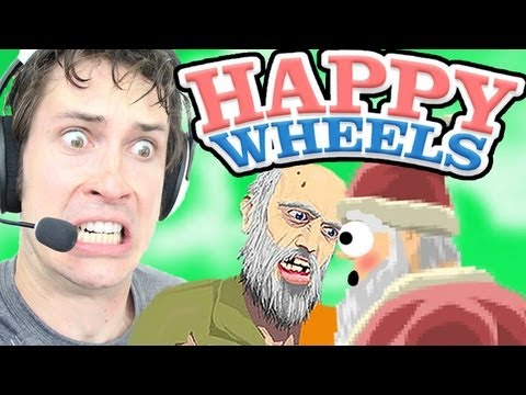 Happy wheels santa kisses wheelchair guy