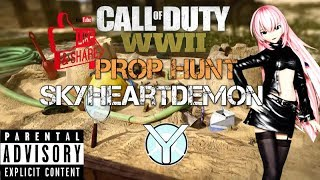 Live Ps4 Call of Duty: WWII Prop Hunt