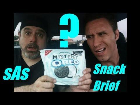 sAs SnackBrief: Mystery Oreos! YOU Guess the Flavor!