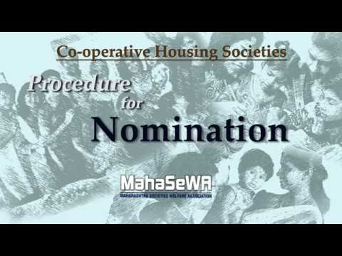 Procedure for Nomination in a Co-operative Housing Society