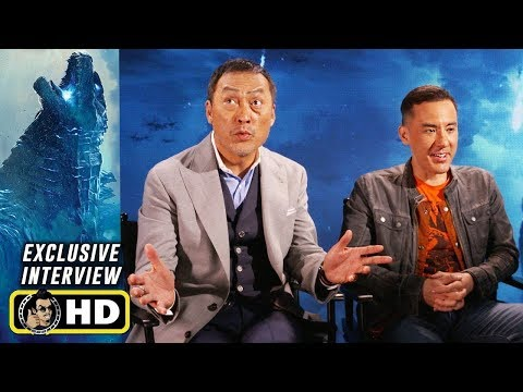 Ken Watanabe & Michael Dougherty Interview For GODZILLA