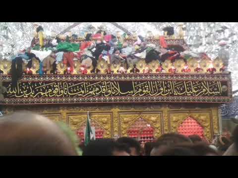 Shabe Ashur Zari E Mola Abbas as In Karbala Moharrum 1440