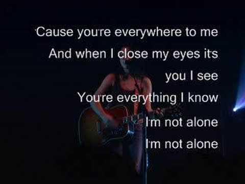 Michelle Branch - Everywhere lyrics thumbnail
