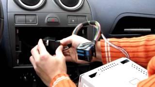 Namestitev Dension Gateway 300 (USB, iPod) - FORD Fiesta - 6000CD