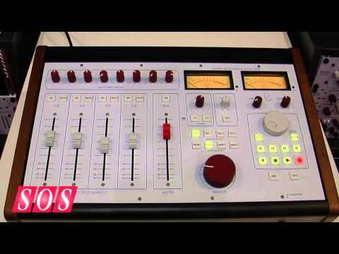Rupert Neve Designs 5060 Centerpiece - Musikmesse 2013