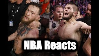 NBA Players React to Brawl at UFC 229 (McGregor vs Khabib)