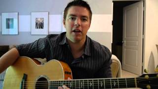 "Worship Guitar Lesson - ""Sanctuary"" - (Matt McCoy)"
