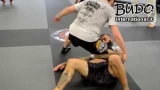 Davide Morini e Fabio Tumazzo - Stage MMA - Tecnica di triangolo con le gambe - Budo International