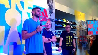 Ricky Rubio Press Conference - Manila Adidas
