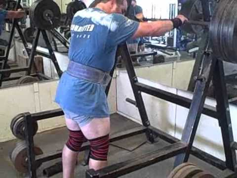 How to develope a Bodybuilders Physique. 500lbs Squats x 10 reps. Image 1