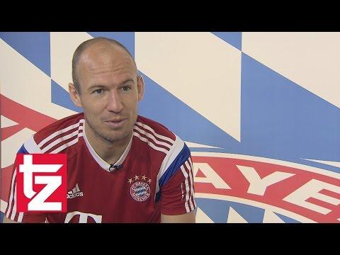 FC Bayern - Arjen Robben im Interview: