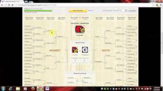 2013 NCAA Men's Basketball Bracket (FULL)