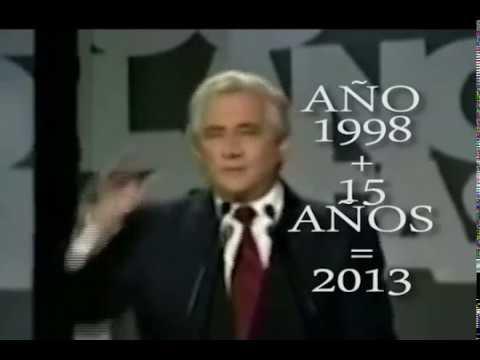 CHAVEZ SE VA EN 2013, DICHO POR EL MAZ ÓN EN 1998... MIRALO TU MISMO