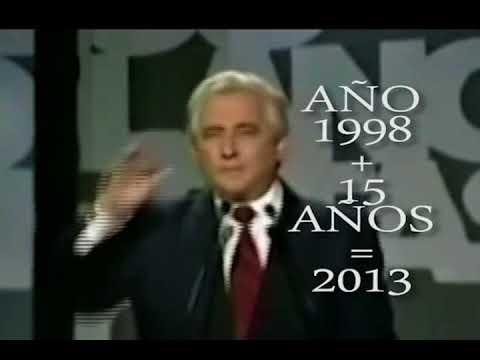 CHAVEZ SE VA EN 2013, DICHO POR EL MAZÓN EN 1998... MIRALO TU MISMO