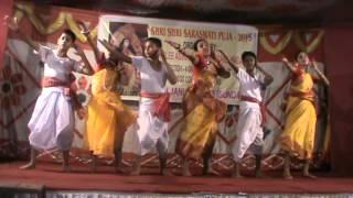 Bangla group folk dance....choreographed by Puja Bag