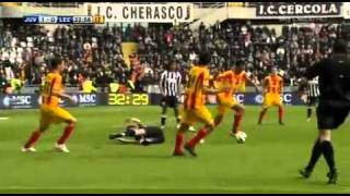 Juventus-Lecce 4-0 - 7° GIORNATA SERIE A 2010/2011 - SKY Highlights (17/10/10)
