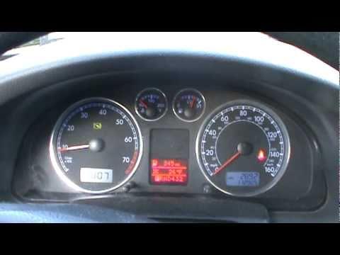 volkswagen passat  cold start dash view youtube