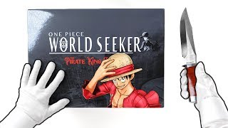 Unboxing ONE PIECE World Seeker Collector's Edition (Pirate King Edition) Luffy Figurine + Gameplay