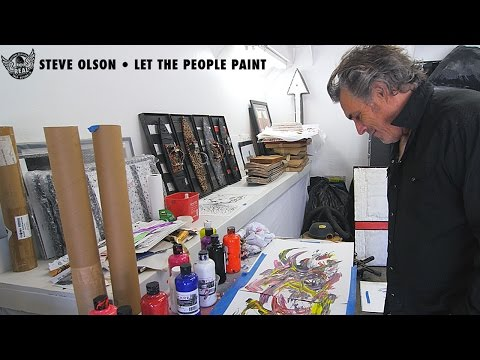 Steve Olson - Let the People Paint - Actions REALized