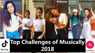 Top 10 Challenges Of Musically 2018 | Avneet, Manjull, Awez, Ashika, Mrunal