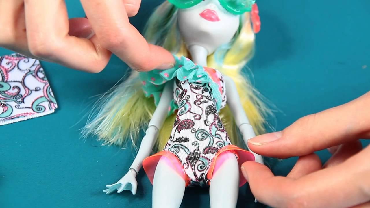 Monster High Lagoona Blue Swim Doll Blue Swim Monster High