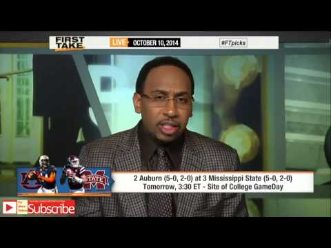 First Take - Skip: This Year's Mississippi State is Last Year's Auburn