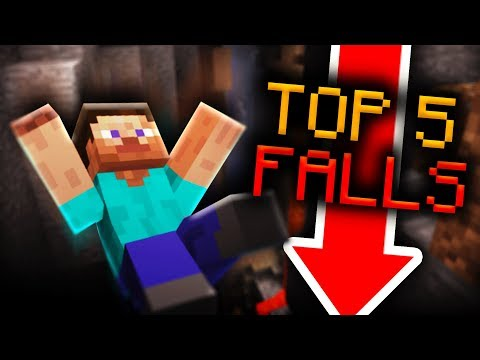 Top 5 Funny Falls in Minecraft