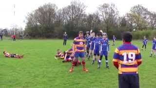 Samsung Try of the Month entry - Old Halesonians RFC