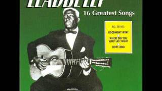 Watch Leadbelly Good Night Irene video