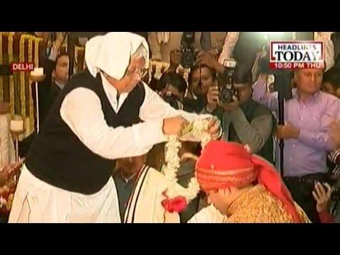 Newsroom: Lalu Prasad's Daughter Marries Mulayam's Grandnephew