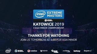 LIVE: Renegades vs ViCi gaming - IEM Katowice Asia Minor 2019 - Day 3