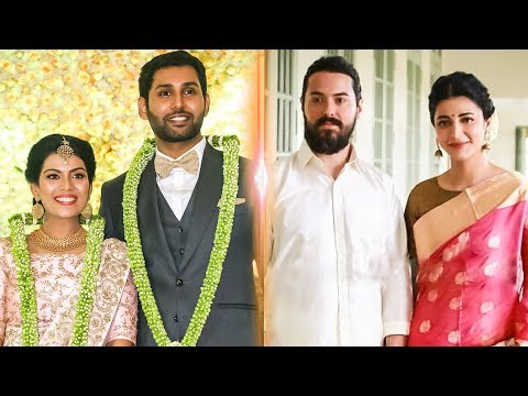 HOT: Shruthi Haasan with her Boyfriend Attends Kannadasan Grandson Wedding | TK 653
