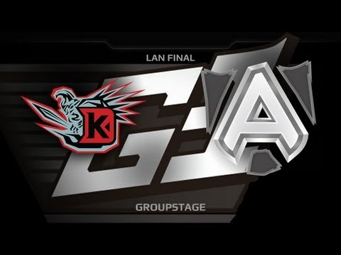 G1 League LAN Final  Groupstage  DK vs The Alliance