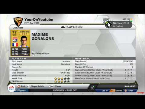 Fifa 13 Ultimate Team Scouting For Talent Episode 1 - Maxime Gonalons