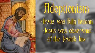 Video: In 75 AD, Adoptionism taught Jesus a Jewish Man was adopted by Father - Lorence Yufa (Milwaukee Athiests)