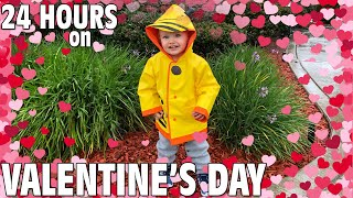 24 Hours with 6 Kids on a Rainy Valentine's Day