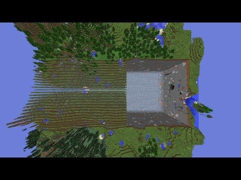 Ciencia en Minecraft, ¿Menos diamantes en la 1.8?