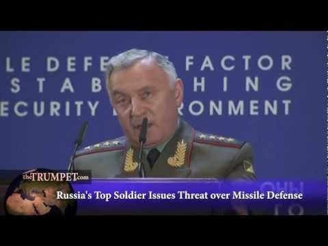 Russia's Top Soldier Issues Threat Over Missile Defense