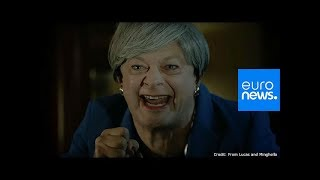 Andy Serkis reprises Gollum character to mock May