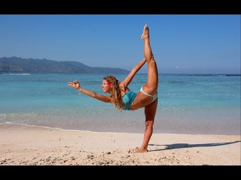Yoga Hip Stretches With Dashama video