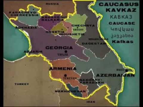 Caucasus -- Armenia Georgia Azerbaijan Dagestan Chechnya