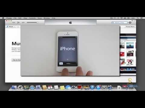 Como restaurar IPHONE 5 y 5s a estado de fabrica  NUEVO!  2013