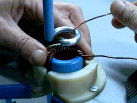Намотка тороидальной катушки своими руками 3