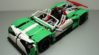 "Lego Technic 42039 ""E"" Modell - Sport car - THE SPAWN - by dokludi"