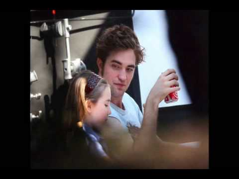 Rob Pattinson with his new leading lady Ruby Jerins *VIDEO*