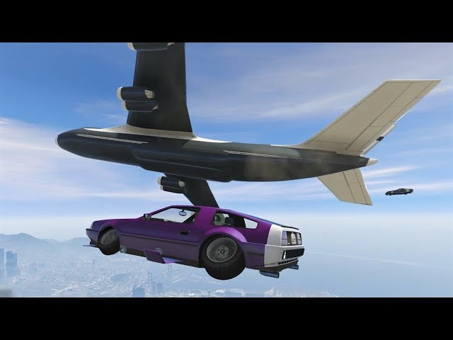WE DROP A SUPER AIRCRAFT! - GTA V
