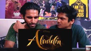 Aladdin Teaser Trailer REACTION !!😑😑